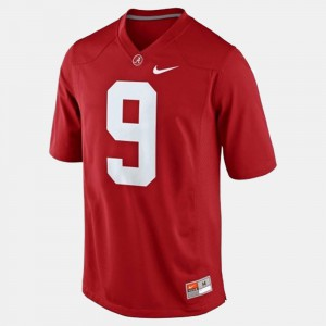 #9 For Men's Official Red University of Alabama Amari Cooper Jersey College Football 814492-995