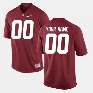 Crimson Roll Tide Customized Jerseys #00 College For Men's College Limited Football 331327-887