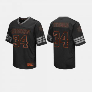 Black College College Football #34 Men AU Jersey 432590-324