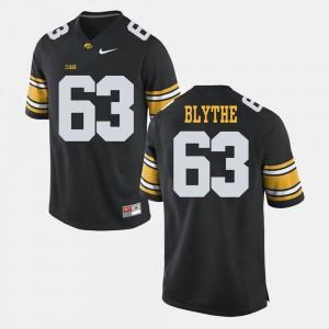 #63 Black Stitch Hawkeyes Austin Blythe Jersey Mens Alumni Football Game 283704-390