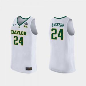 2019 NCAA Women's Basketball Champions #24 Embroidery For Women's White BU Chloe Jackson Jersey 918713-605