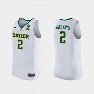 White #2 Stitch 2019 NCAA Women's Basketball Champions Baylor University DiDi Richards Jersey For Women 180552-818