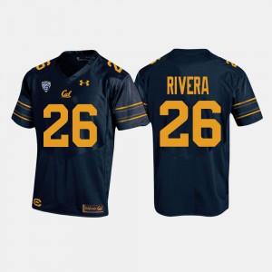 College Football #26 High School Navy For Men California Bears Bug Rivera Jersey 336258-563