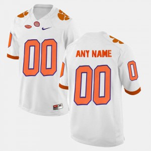 College White #00 For Men College Limited Football CFP Champs Customized Jerseys 492445-524