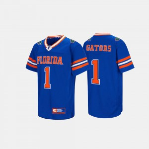 For Men Florida Jersey Royal Blue Player #1 Hail Mary II 609273-317