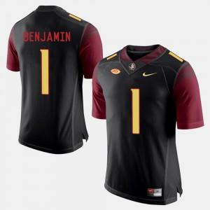 Seminoles BKelvin Benjamin Jersey College Football Black Men #1 Embroidery 727309-660
