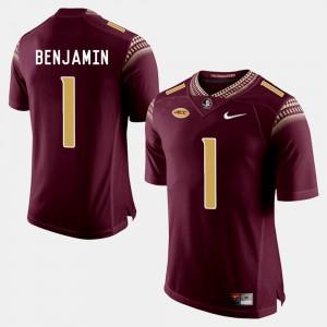 University College Football Mens Garnet Seminoles BKelvin Benjamin Jersey #1 394711-405