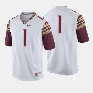 #1 White For Men's College Football FSU Jersey Alumni 207279-840