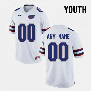 White Florida State Seminoles Customized Jerseys For Kids College Limited Football Alumni #00 116080-926