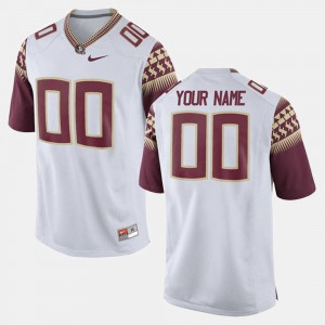 White College For Men College Limited Football Florida ST Customized Jerseys #00 186872-739