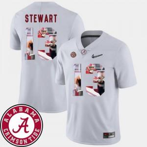 Alabama ArDarius Stewart Jersey Football White #13 Men Pictorial Fashion Stitched 877365-476