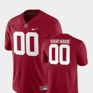 College Football Crimson Player For Men's Bama Customized Jerseys 2018 Game #00 660896-375