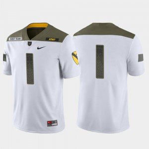 Army Jersey For Men's 1st Cavalry Division White Limited Edition Stitched #1 882435-938