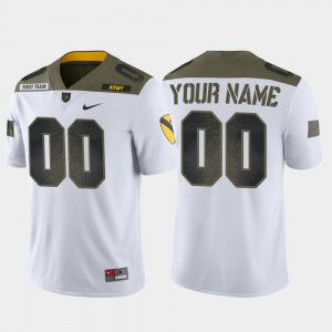 1st Cavalry Division White Limited Edition Men's Official United States Military Academy Customized Jerseys #00 128155-550