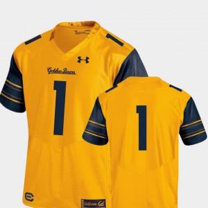 College Football Gold Berkeley Jersey Performance Premier College #1 Men 204399-304