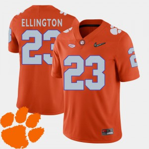 CFP Champs Andre Ellington Jersey #23 Orange For Men College Football College 2018 ACC 633783-670
