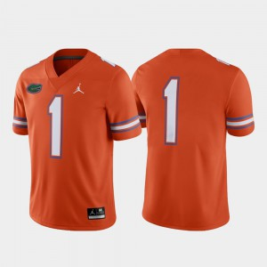 Alternate Alumni For Men Game Orange #1 Gators Jersey 220423-919