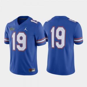 Florida Gators Jersey For Men Player #19 Royal Limited Football 862671-514
