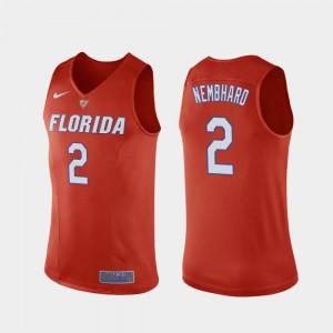 #2 Replica Florida Gator Andrew Nembhard Jersey Men College Basketball Orange College 275906-507
