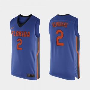 Replica Royal Blue Florida Andrew Nembhard Jersey Mens College Basketball #2 NCAA 258568-902