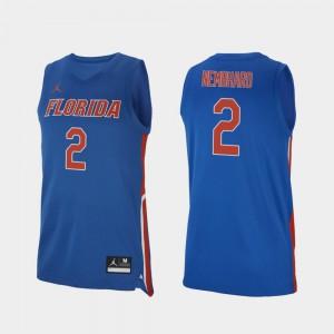 High School UF Andrew Nembhard Jersey #2 College Basketball Men Royal Replica 344516-450