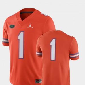 2018 Game Orange Men's College Football Stitch #1 Florida Jersey 845594-633