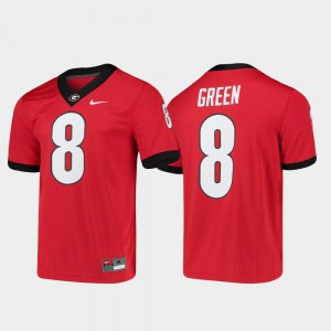 Game Alumni Player College Football Georgia Bulldogs A.J. Green Jersey #8 Men's Official Red 488285-905
