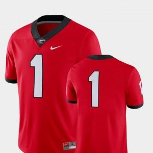 Georgia Bulldogs Jersey College Football 2018 Game #1 Red Alumni For Men's 943787-634