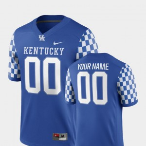 Men Stitched #00 2018 Game Royal University of Kentucky Custom Jerseys College Football 393520-771