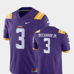 College Football Purple Game LSU Tigers Odell Beckham Jr Jersey Player #3 Mens 953023-316