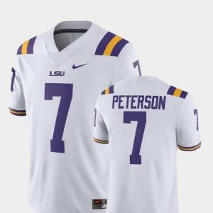 NCAA Alumni Football Game White Tigers Patrick Peterson Jersey #7 Player Men's 243907-888
