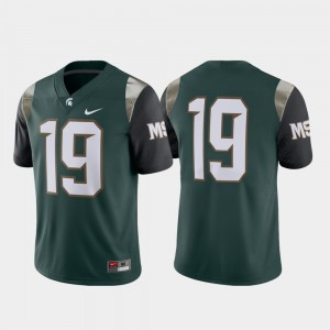 #19 Spartans Jersey Men's Limited College Green 176330-603