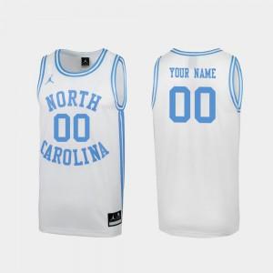 #00 White University March Madness North Carolina Tar Heels Customized Jerseys Special College Basketball Men's 199968-603