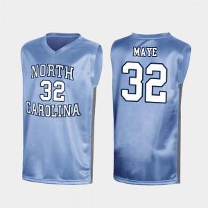 Special College Basketball March Madness #32 Tar Heels Luke Maye Jersey Royal Men Player 706361-590