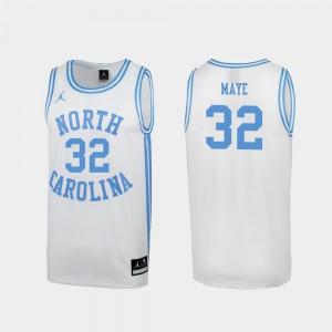Men March Madness #32 Player White Special College Basketball North Carolina Luke Maye Jersey 674480-230