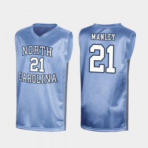 Royal University UNC Sterling Manley Jersey March Madness #21 Special College Basketball Men 243209-819