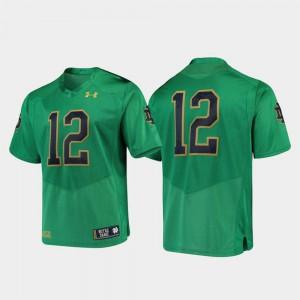 Green University Premier For Men Irish Jersey College Football #12 777817-337