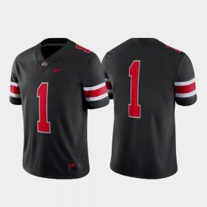 Ohio State Buckeye Jersey Alternate College Football Black Game NCAA For Men's #1 512235-750
