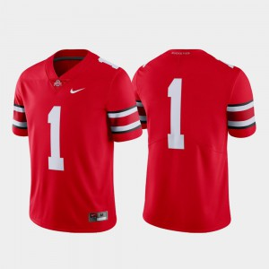Ohio State Jersey #1 Scarlet Men Limited University College Football 847777-185
