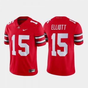 Limited Player Men Scarlet Ohio State Buckeyes Ezekiel Elliott Jersey #15 Name & Number 388535-444