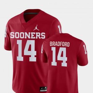 Game Crimson Sooner Sam Bradford Jersey #14 NCAA For Men College Football 845978-741