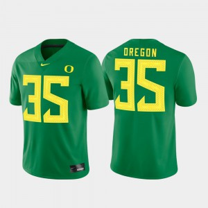 UO Jersey #35 For Men College Game Green 274744-923