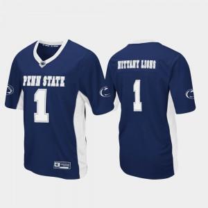 Penn State Jersey Stitch Men Football Navy Max Power #1 815225-872