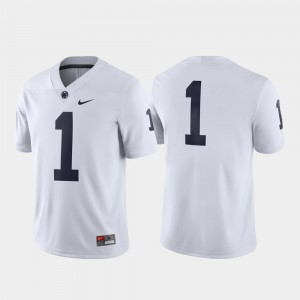 Game Penn State Jersey #1 White Men Embroidery 179422-161