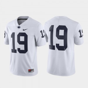 Mens Limited Nittany Lions Jersey #19 White Official 129971-504