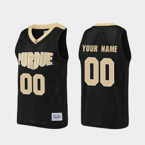 Alumni For Men's Boilermaker Custom Jerseys Black #00 Basketball College 711209-955