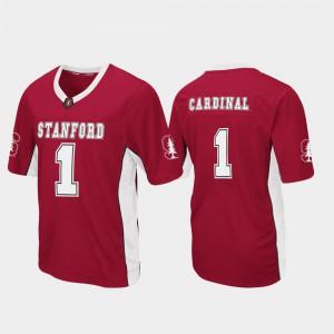 Max Power Football Stanford Cardinal Jersey Men College Cardinal #1 743608-343