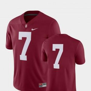 Men's 2018 Game Stanford Cardinal Jersey Cardinal #7 College Football College 565479-182