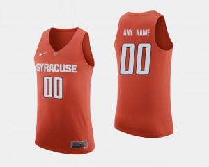 Alumni #00 Syracuse Customized Jerseys Men's College Basketball Orange 394667-440