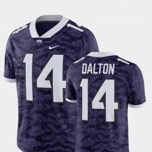 Horned Frogs Andy Dalton Jersey Player Men's Alumni Purple Alumni Football Game #14 473190-564